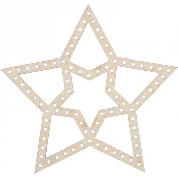Motif Étoile à tresser