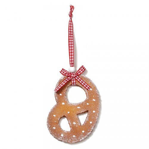 Suspension Bretzel ( 10 cm) - Résine