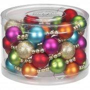 Guirlande Perles et Boules Multicolores (175 cm) - Plastique