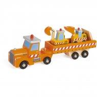 Baby Camion de Chantier (41 cm) - Bois