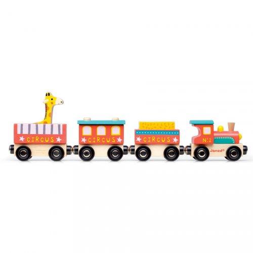 Baby Train Circus  (31,5 cm) - Bois