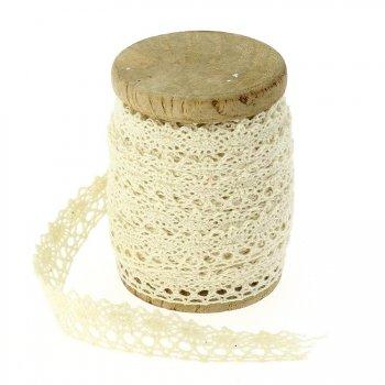 Ruban de Dentelle Coton (1,5 cm) N°6