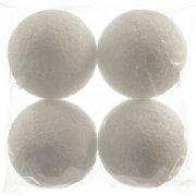 4 Boules de Neige Maxi (10 cm)