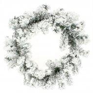 Couronne de Noël Sapin Grosse Neige (50 cm) - Artificiel