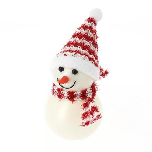 Bonhomme de Neige Lumineux LED (14 cm) - Couleurs changeantes
