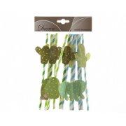 12 Pailles Cactus - Carton
