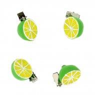 4 Poids de Nappe Citron Vert