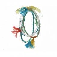 5 Bracelets Indian Summer - Harmonie Turquoise