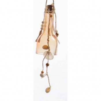 Petit Carillon Indian Summer Beige rosé (13 cm) - Verre