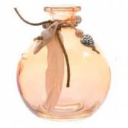 Mini Vase Indian Summer Orange (10 cm) - Verre