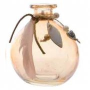 Mini Vase Indian Summer Beige Rosé (10 cm) - Verre