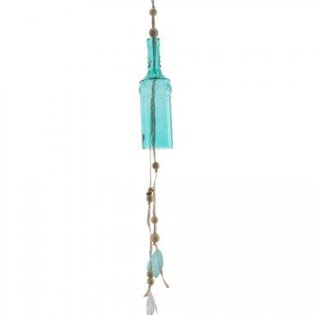 Maxi Carillon Indian Summer Bleu Turquoise (25 cm) - Verre