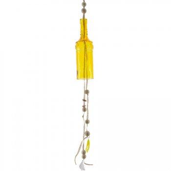 Maxi Carillon Indian Summer Jaune (25 cm) - Verre