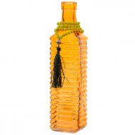 Vase Bouteille Indian Summer Orange (26 cm) - Verre