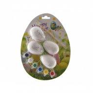 Kit Créatif 4 Oeufs de Pâques à Décorer
