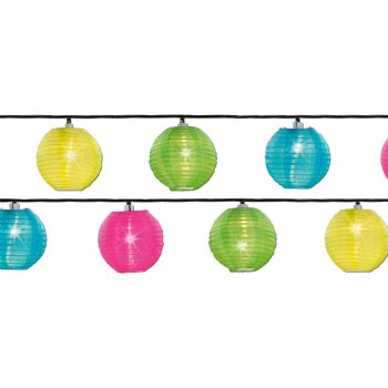 Maxi Guirlande Lumineuse 20 Mini Lanternes LED (9,50 m)