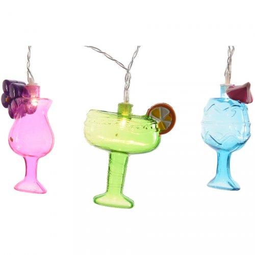 Guirlande Lumineuse 10 Cocktails LED (1,35 m)