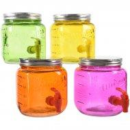 1 Bonbonne à Robinet Summer Colors (19 cm) - Verre