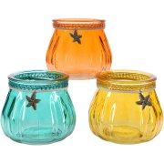 1 Photophore Summer Sea (8 cm) - Verre