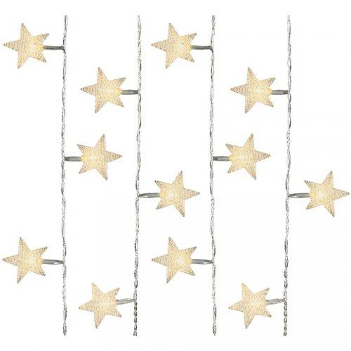Guirlande lumineuse 40 Etoiles LED (4 m)
