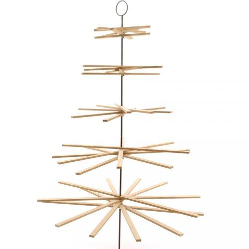 Sapin à Suspendre (1,75 cm) - Bois et Métal