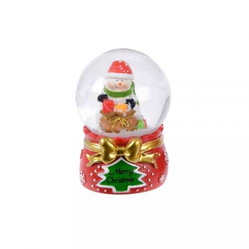 Petite Boule à Neige Bonhomme de Neige (6,5 cm)