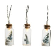 Guirlande Lumineuse mini Flacons Sapin (90 cm) à Piles