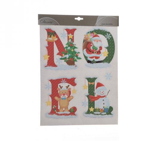 Déco Fenêtre Noël Tradition