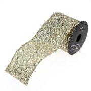 Ruban Large Glitter Or N°2 (2,70 m - 6,3 cm)
