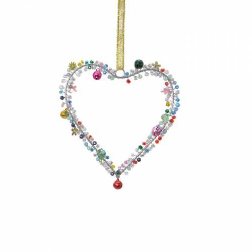 Coeur à Suspendre - Perles