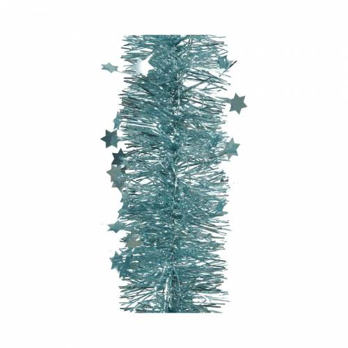 Guirlande de Noël - Bleu Arctique Scintillant