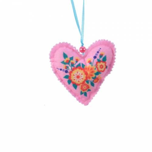Coeur à Suspendre - Tissu