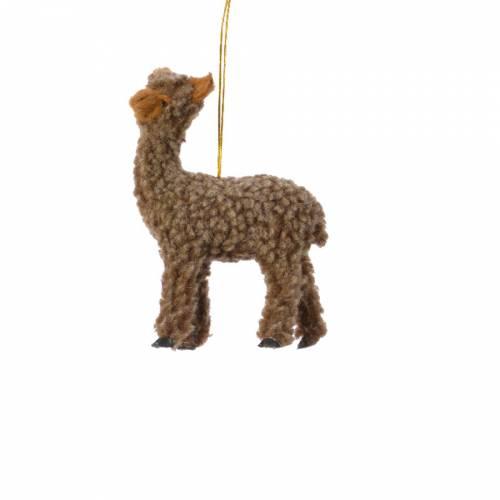 Petit Lama Camel à  Suspendre - Tissu