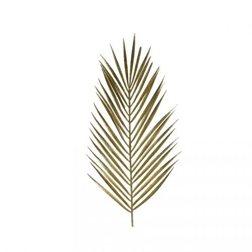 1 Branche de Fougère Or (70 cm) - Plastique