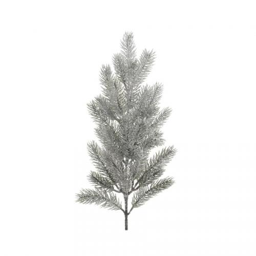 1 Branche Sapin Givré (52 cm) - Plastique