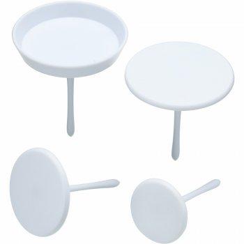 Set 4 plateaux pour décoration de Cupcakes