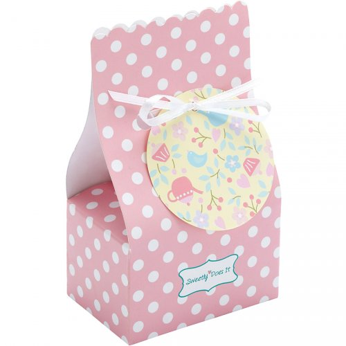 8 boîtes cadeaux Pink Romance
