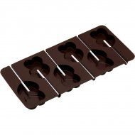 Moule à Sucettes Chocolats Double Coeurs