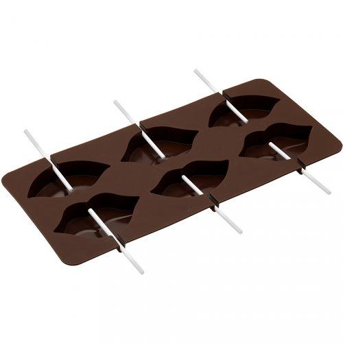 Moule à Sucette Chocolat Bouches