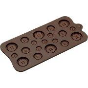 Moule à Chocolats Boutons
