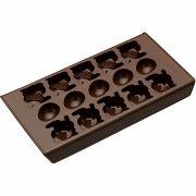 Moule � chocolats Oeufs et Lapins