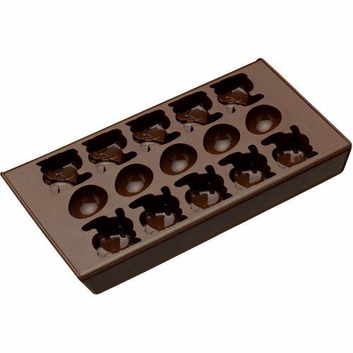 Moule à chocolats Oeufs et Lapins