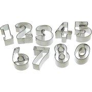 Boite emporte-pièces chiffres 0 à 9