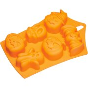 Moule silicone 6 Muffins Halloween
