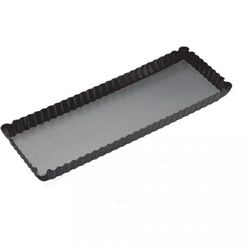 Moule Long Fond amovible (36 x 13 cm) - Métal