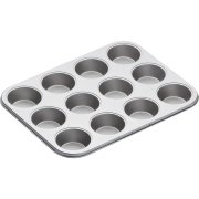 Plaque 12 Moules Cupcakes (7 cm) - Métal