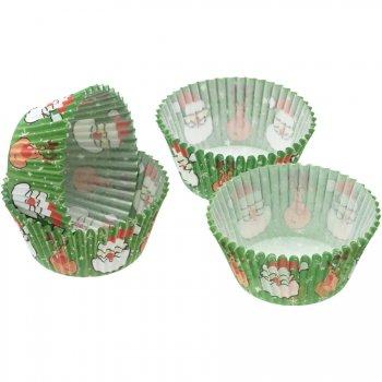 60 Caissettes à Cupcakes Père Noël