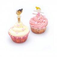 Kit 24 Cupcakes Ballerine (Caissettes, Décos, Bonbons)