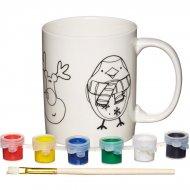 Kit Créatif Mug de Noël à Décorer