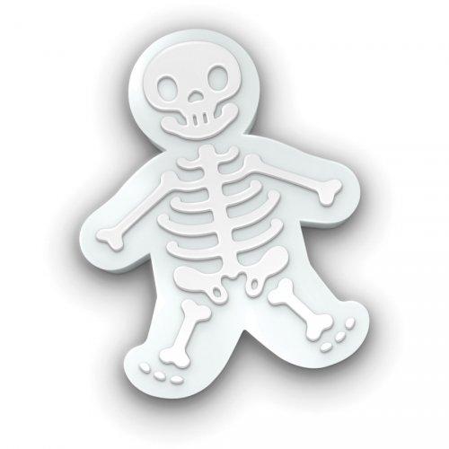 1 Emporte-pièce Squelette en relief (14 cm)